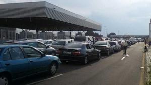 Снимка: Натоварено движение през повечето ни гранични пунктове