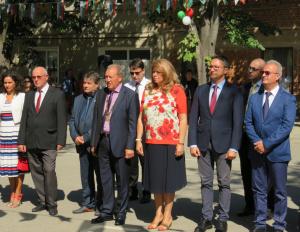 Снимка: Вицепрезидентът призова за специален план за развитие на пограничните региони