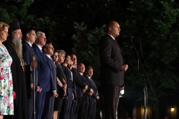 Президентът в Пловдив: Новото Съединение минава през разделение с беззаконието, арогантността, нихилизма