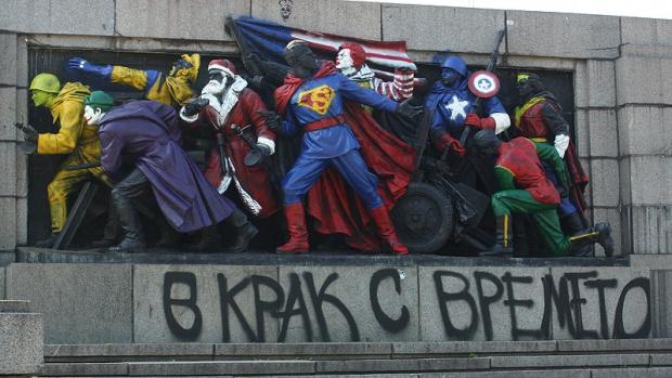 Паметникът на Съветската армия бе осквернен точно преди 9 септември