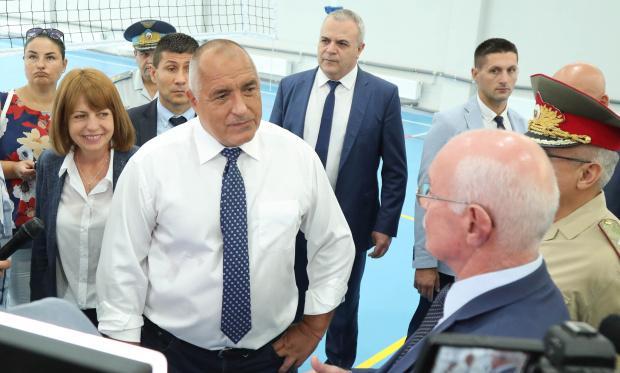 Борисов: Близо милиард дава държавата за инфраструктура в образованието