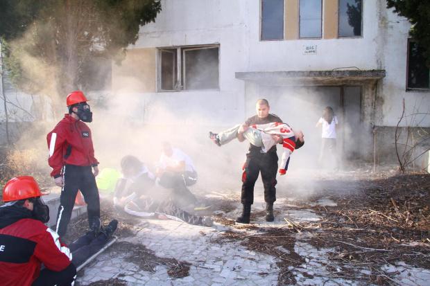 БЧК и пожарната ще тренират мащабно бедствие с множество пострадали на няколко места