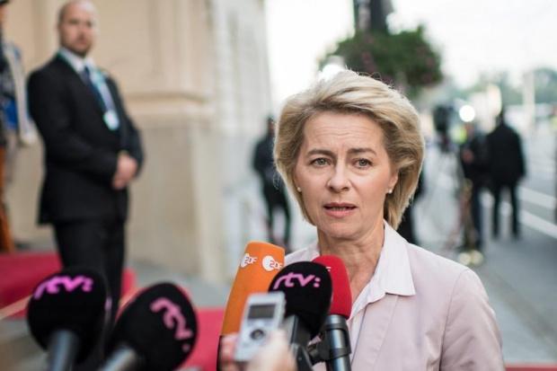 Фон дер Лайен си навлече гняв заради новото име на ресора за мигрантите