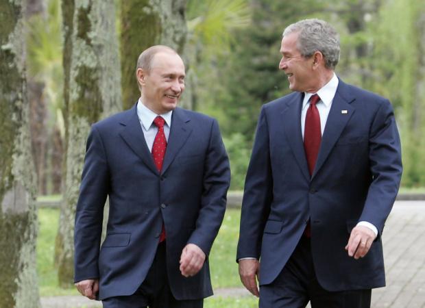 Путин предупредил Буш-младши за ада на 11 септември