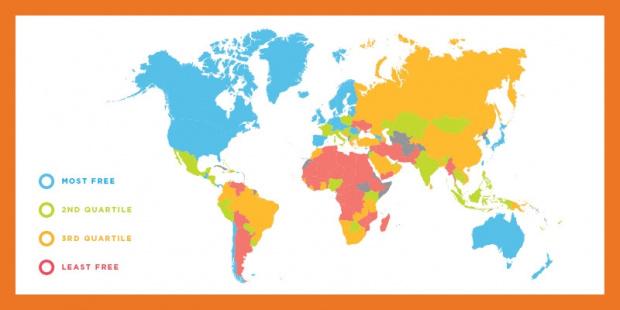"""България бавно се изкачва в индекса""""Икономическата свобода по света""""на института"""