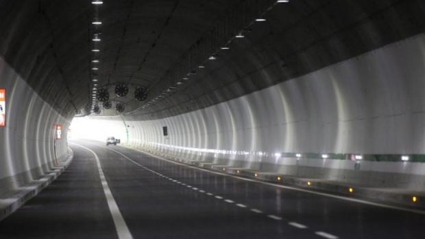 Снимка: Внимавайте днес на АМ Тракия, в тунела ще има ремонт
