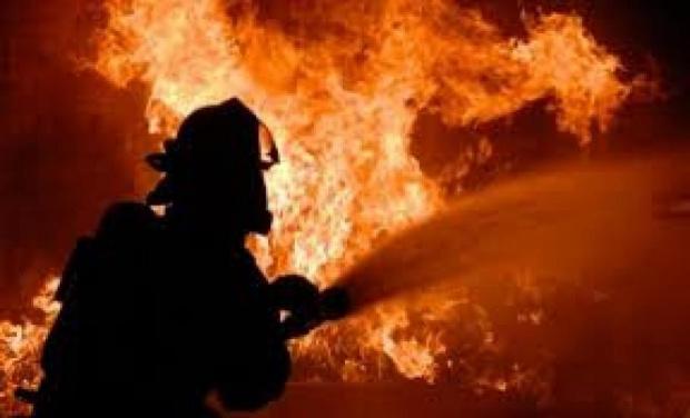 Огроменпожар лумна в непосредствена близост до летище София. Не е
