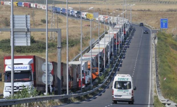 Задръстване на границата с Турция има и днес, предаде БГНЕС.