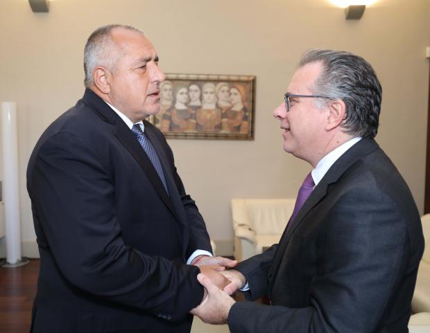 Министър-председателят Бойко Борисов се срещна с министъра по миграционната политика