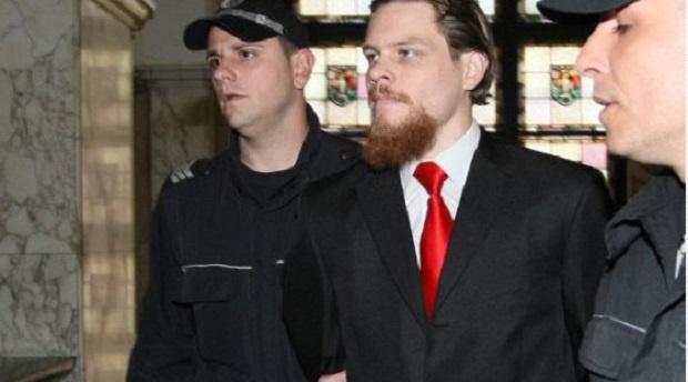 Протест пред Съдебната палата заради предсрочното освобождаване на Джок Полфрийман.