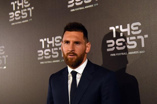 Снимка: ФИФА награди Меси за най-добър играч на годината