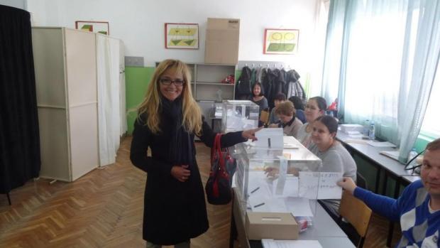 Столичната общинска избирателна комисия еотказала регистрация на Десислава Иванчева заместните
