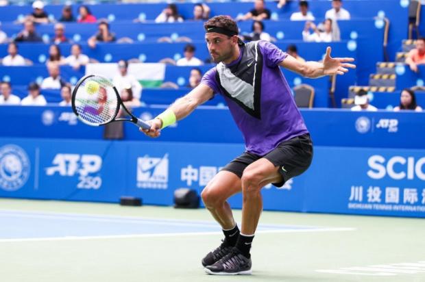 Григор Димитров бе разбит още на старта на Откритото първенство