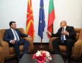 Премиерът посъветва Заев да не подава оставка (ВИДЕО)