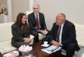 Бойко Борисов се срещна с новия посланик на САЩ и пусна пост във Фейса