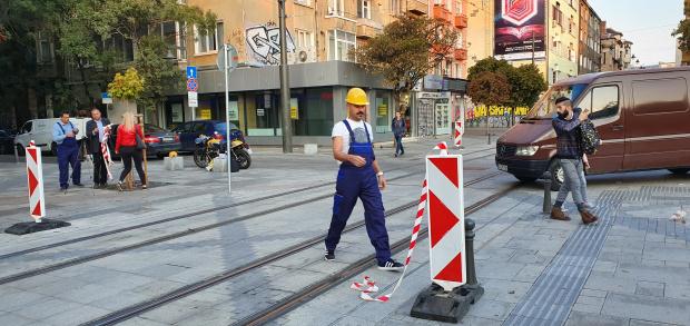 "Станалата известна с некачествените си строителни дейности улица ""Граф Игнатиев"""