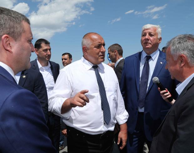 Във Варна премиерът Бойко Борисов даде заявка, че ще се