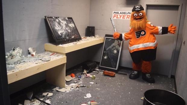 """Иновация! Клуб от НХЛ отвори """"стая на гнева"""", където феновете да чупят на воля"""
