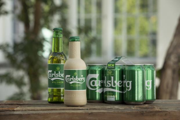 """Карслберг Груп разработва първата в света """"хартиена"""" бутилка за бира."""