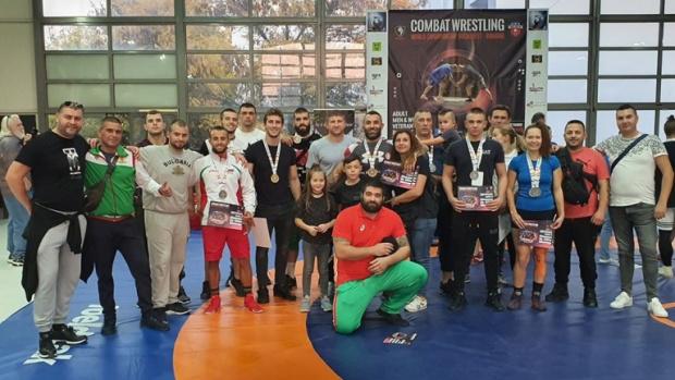 Шест титли за българските национали по комбат рестлинг на Световното в Букурещ