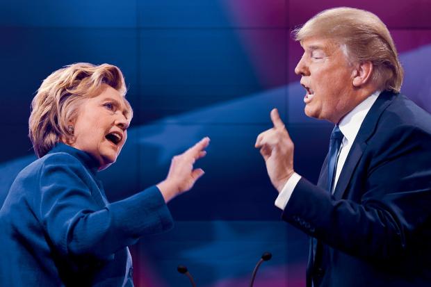 Снимка: Тръмп отсече: Хилари Клинтън полудя