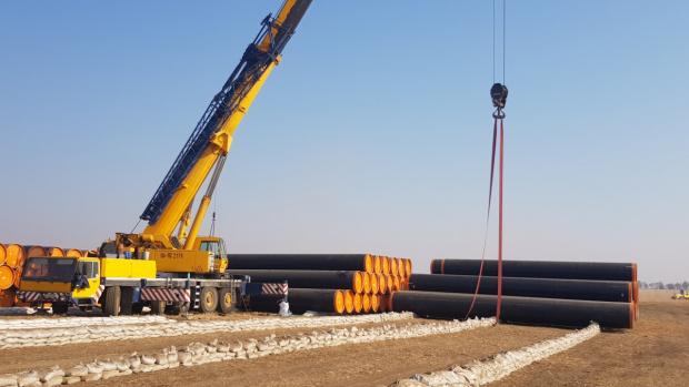 """Газопроводът """"Турски поток"""", или както се нарича на българска територия"""
