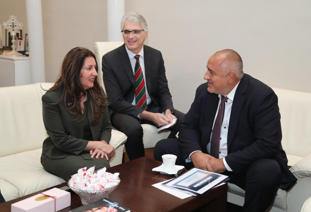 Днес премиерът Бойко Борисов се срещна с новия посланик на
