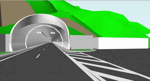 """Започна строителството на тунел """"Железница"""" от автомагистрала """"Струма"""", както и"""