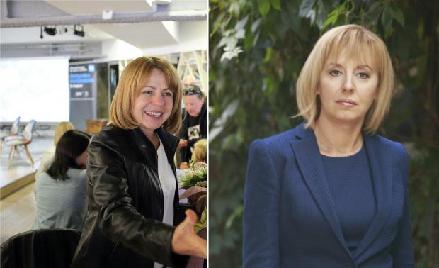 Снимка: София без нов кмет на първи тур, Фандъкова и Манолова отиват на балотаж