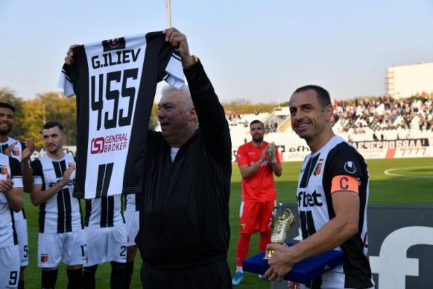 Падна невъобразим рекорд в бг футбола, Георги Илиев вече е №1 по мачове в елита