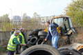 Кметът на Столипиново на война срещу обгазяването от горене на автомобилни гуми