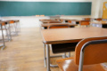 Мъж вилня в класна стая в плевенско училище