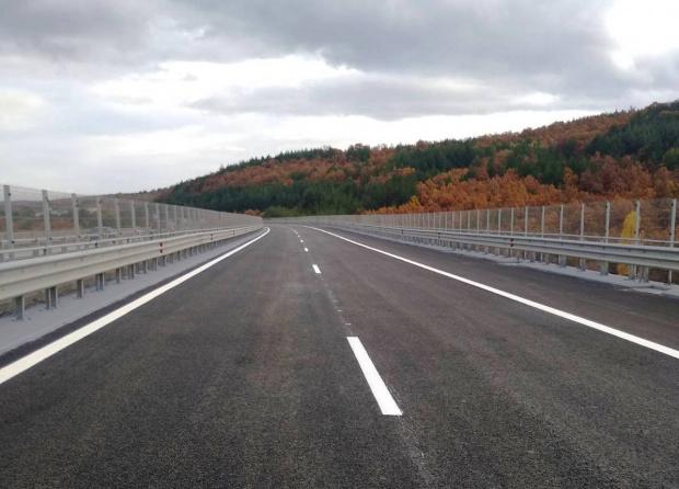 "Завърши ремонтът на виадуктите на АМ ""Тракия"" в посока Бургас"