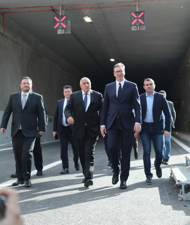 Борисов в Ниш: И ние като германците можем да кажем, че Берлинската стена между България и бивша Югославия днес пада