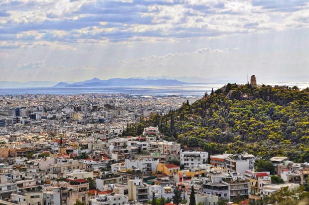 Антитерористична операция в Атина
