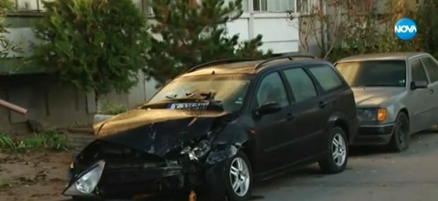 Пияна шофьорка нахлу с автомобила си в магазин за хранителни