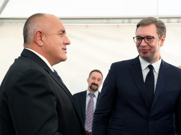 В интервю за Първа сръбска телевизия премиерът Бойко Борисов коментира,