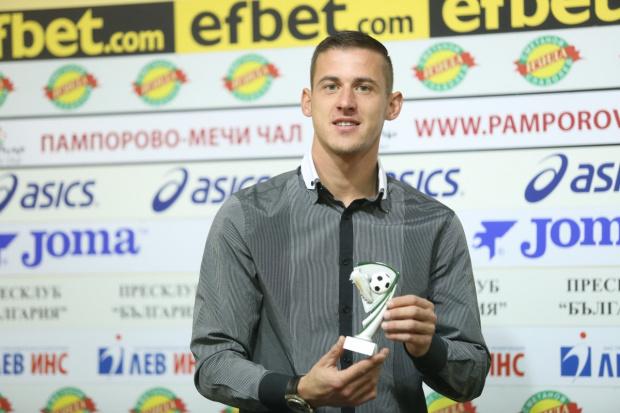 Снимка: Александър Тонев от Ботев Пд стана играч №1 на последния кръг в елита