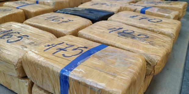 Снимка: 94 кг хероин спипаха на Дунав мост