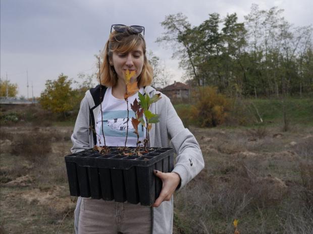 WWF засажда нова гора край Стамболийски