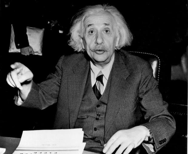 Писмо на Алберт Айнщайн, описващо подробно доказателство относно усилията на