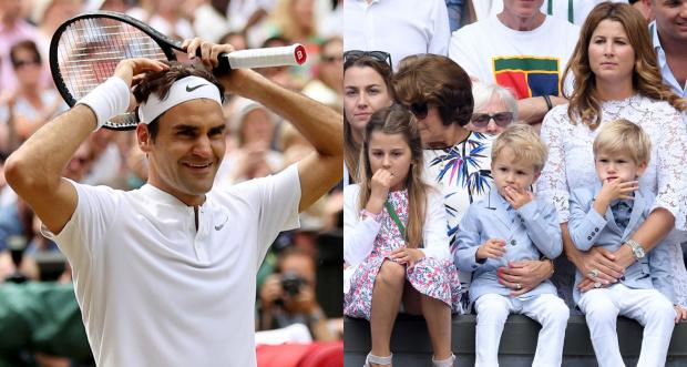 Федерер: Не бих станал треньор по тенис дори на децата си