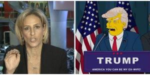 Най-свирепият телевизионен журналист във Великобритания: Тръмп прилича на Хоумър Симпсън