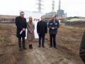Първа копка на нова сграда за Клиентски център на EVN в Пловдив