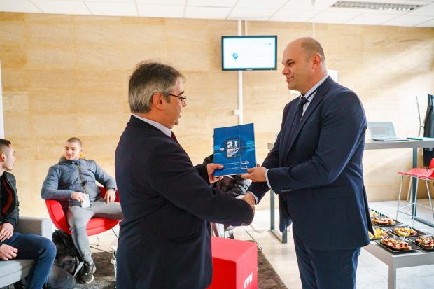 EVN оборудва кът за студенти в ТУ София, филиал Пловдив