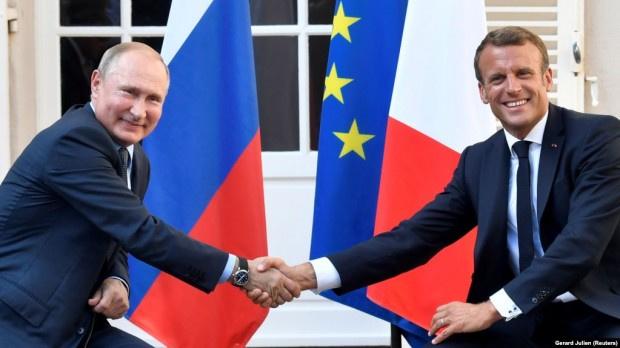 Макрон: Руските ракети могат да поразят Европа