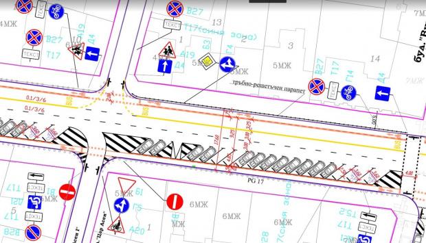 Спаси София към Фандъкова: вземете спешни мерки за корекция на бул. Патриарх Евтимий