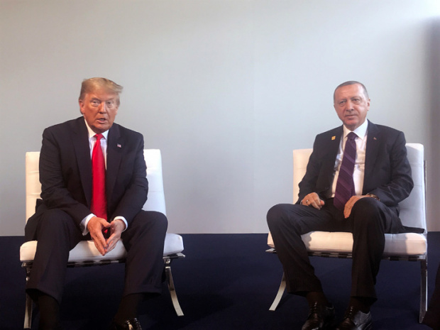 Ердоган и Тръмп проведоха двустранна среща в Лондон