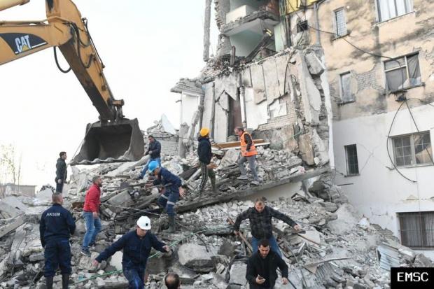 Поредно земетресение е било усетено близо до Албания, този път