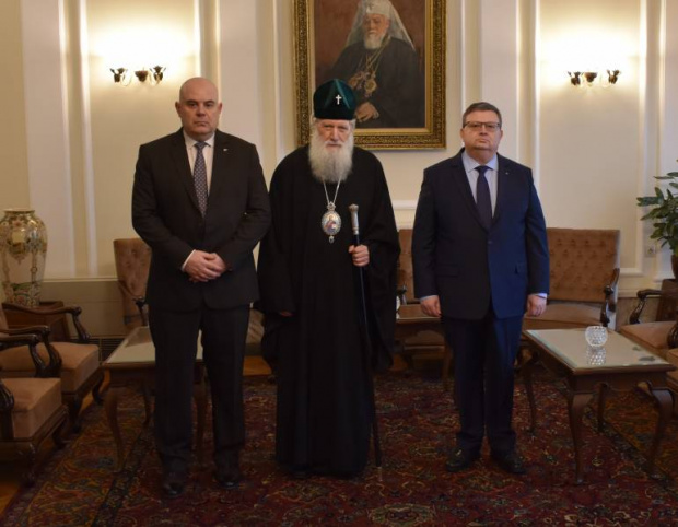 Негово Светейшество Неофит, Патриарх Български и Митрополит Софийски, прие днес,